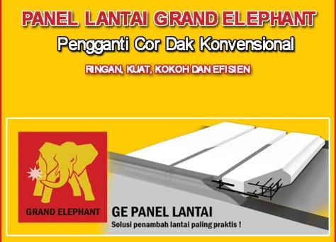 Jual Bata Ringan Murah, Panel Lantai Grand Elephant