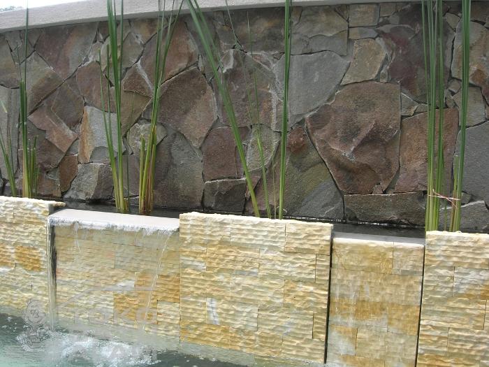Batu Alam Untuk Pagar  Batu Alam Untuk Rumah Minimalis