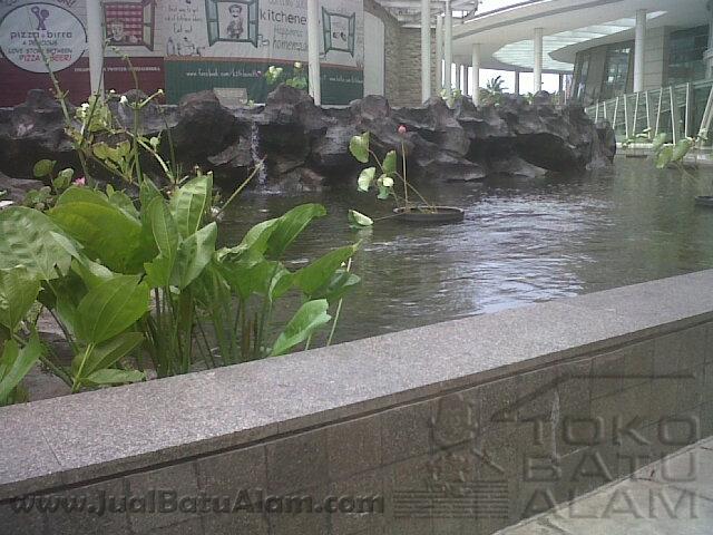 Jual Batu Alam Untuk Kolam HiasIkan by JualBatuAlamcom