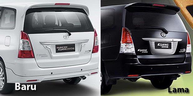 all new toyota kijang innova v luxury grand avanza vs jual beli mobil second
