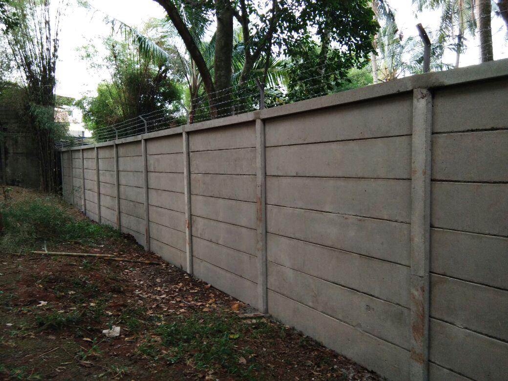 pagar beton proyek jagakarsa