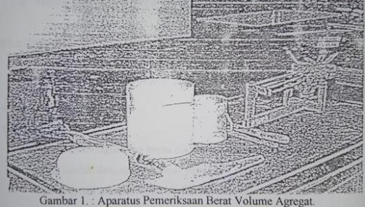 berat volume agregat