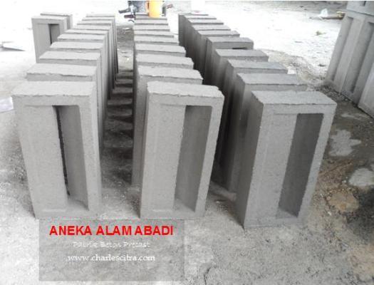 Jalusi Ventilasi beton