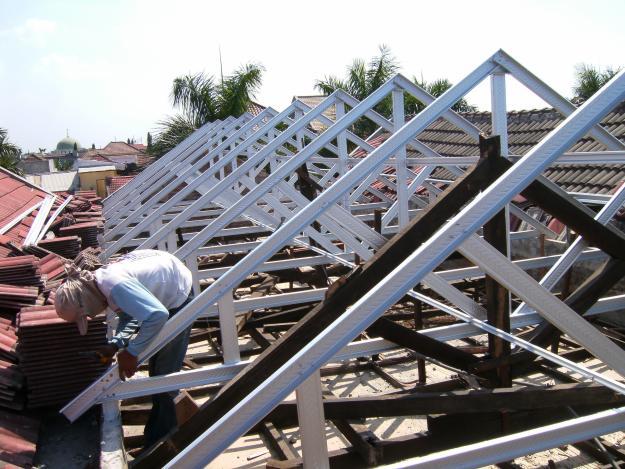 baja ringan truss c75 pasang 082 330 42 5858 jual galvalum surabaya