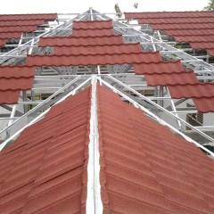 Kanopi Baja Ringan Genteng Pasir Dimensi Metal Distributor Jual Roof