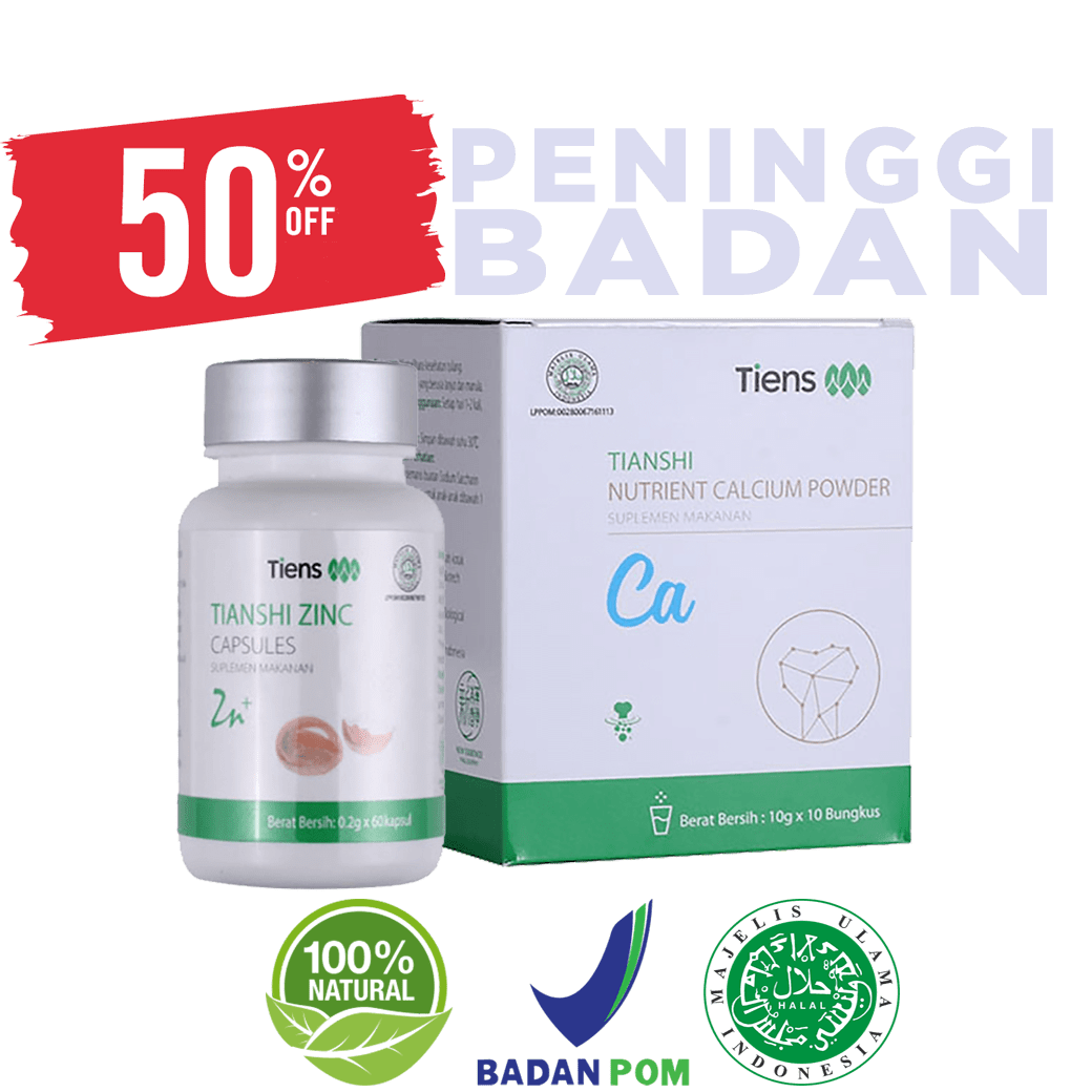 Paket Peninggi Badan Super Grow Up Tiens Original