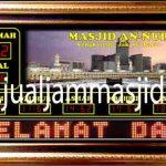 jual jam jadwal sholat digital masjid murah di bogor selatan