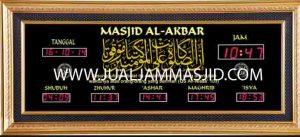 jual jam jadwal sholat digital masjid murah di tanah abang Jakarta
