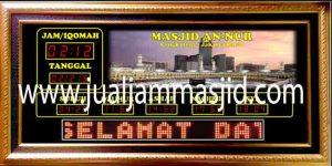 jual jam jadwal sholat digital masjid mauquta di jatinegara Jakarta