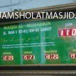 jual jam jadwal sholat digital masjid running text di kramat jati jakarta