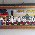 jual jam jadwal sholat digital masjid running text di slipi jakarta