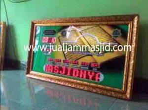 penjual jam jadwal sholat digital masjid running text di depok barat