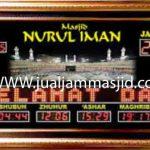 penjual jam jadwal sholat digital masjid running text di Jatiwarna bekasi