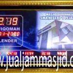 penjual jam jadwal sholat digital masjid running text di Pedurenan bekasi