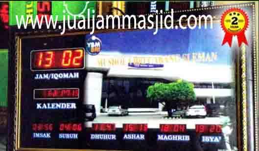 jual jam dinding digital untuk masjid di bekasi timur
