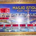 tempat jual jam digital masjid di jakarta
