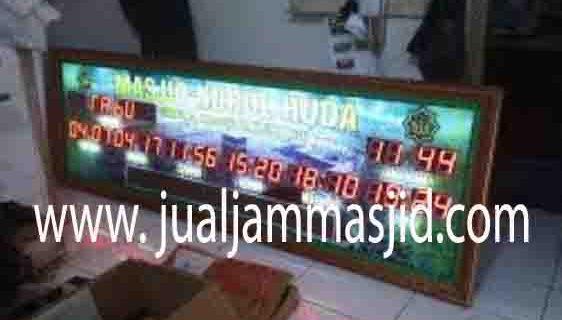 jual jam dinding digital untuk masjid di jakarta selatan