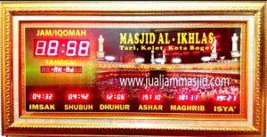 toko jual jam dinding digital untuk masjid di jakarta