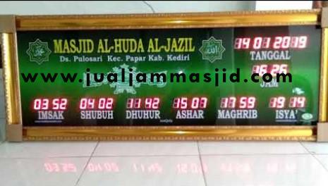jam digital sholat masjid di bintara