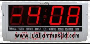 jam digital sholat masjid di pasar minggu