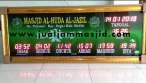 menjual jam jadwal sholat digital masjid di cikiwul Bekasi