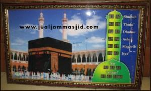 menjual jam jadwal sholat digital masjid running text di pekanbaru timur