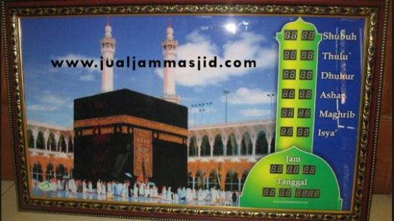 menjual jam jadwal sholat digital masjid di Sumur Batu Bekasi