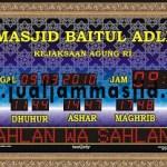 jual jam digital masjid di karawang