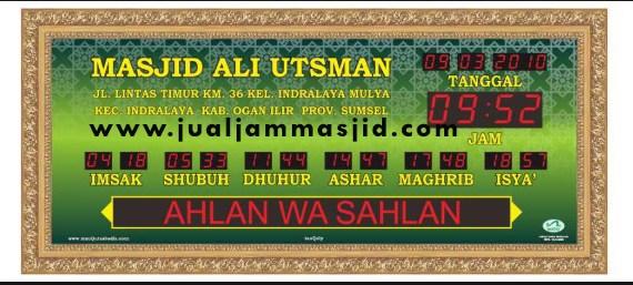 tempat jual jam digital masjid di cibitung