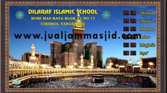 tempat jual jam digital masjid di cikarang baru