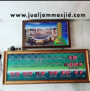 menjual jam jadwal sholat digital masjid running text di tangerang pusat