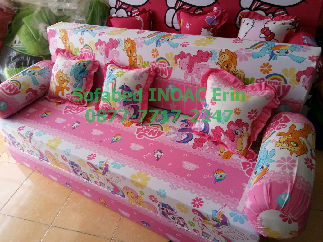 harga cover sofa bed inoac georgia bloomingdales sofabed kasur busa asli 087777172247 jual erin