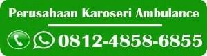 karoseri ambulance Medan, karoseri ambulan Medan, jual mobil ambulance Medan