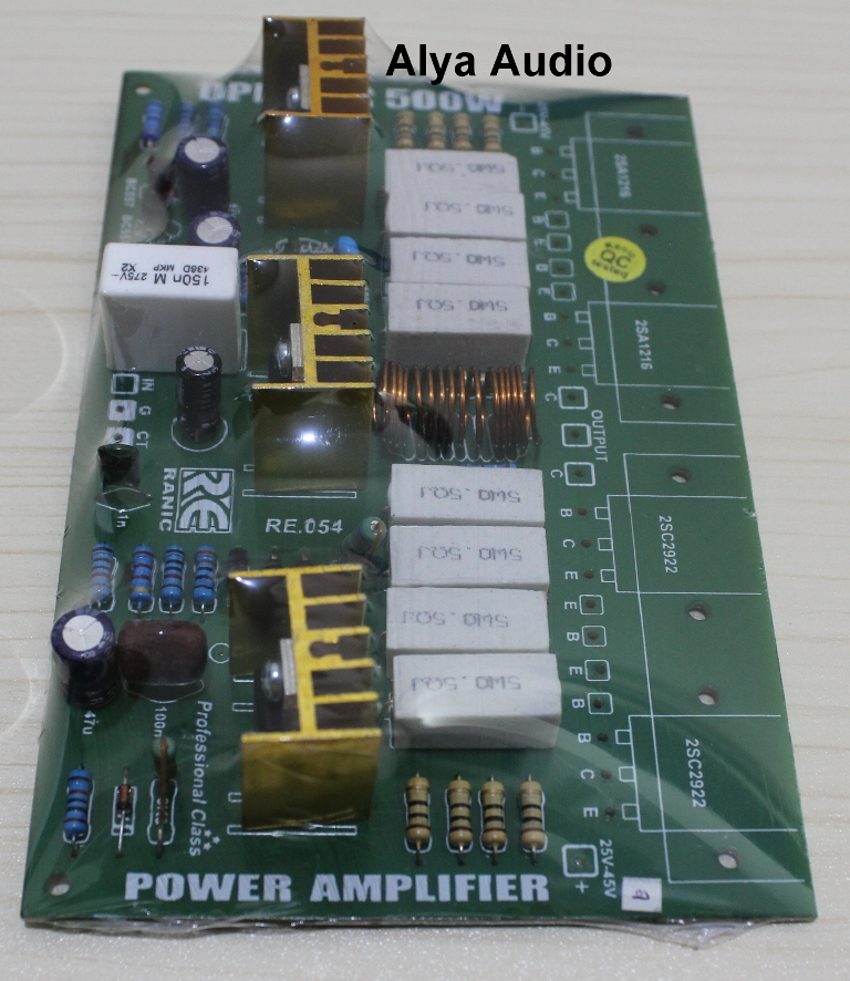 Kit Driver Power Amplifier OPEN AIR 500W  ALYA Audio