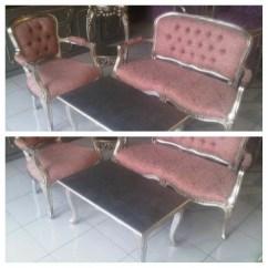 Red Sofa Cafe Baku White Sofas Cheap Kursi Tamu Warna Pink - Jual Mebel Jepara