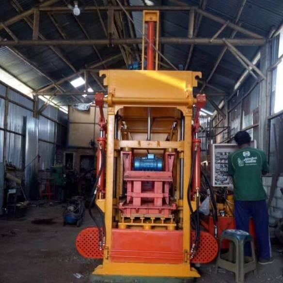 Jual mesin paving blok di Donggala