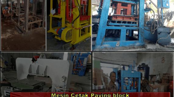 0813.5495.4655(Tsel)Jual mesin paving block di Bandar lampung
