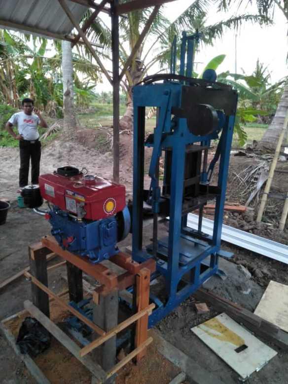 jual mesin press paving block