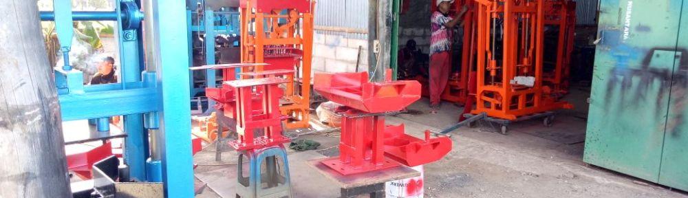 Jual mesin paving block banjarbaru