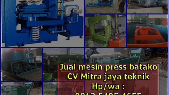 0813.5495.4655(Tsel)Jual mesin press batako di Malang
