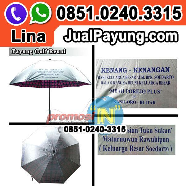 Supplier Souvenir Payung Golf Murah Grosir