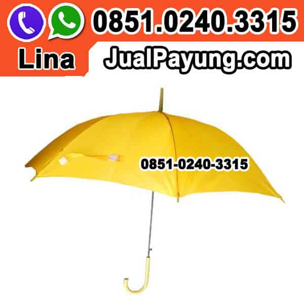 Jual Payung Kuning Polos Grosir Murah