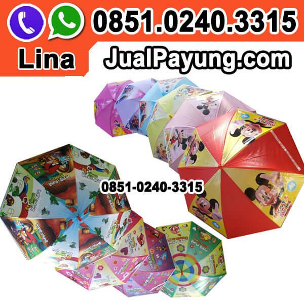 Distributor Payung Anak Karakter Murah Grosir