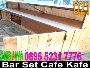 Jual Meja Bar Set Cafe Set Kafe Set Murah Kayu Palet