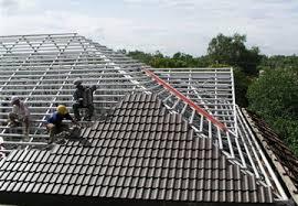 rangka baja ringan bali jual atap termurah di