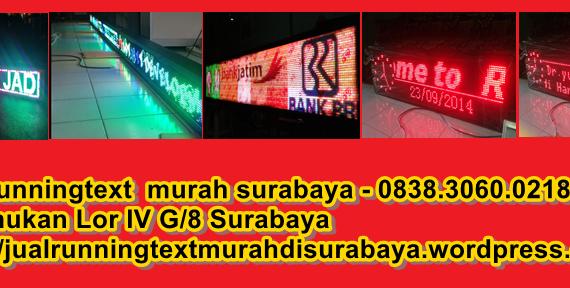 Jual Running text di Jombang hub – 0813.5495.4655