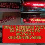 Jual Running text Pohuwato II Jadwal sholat 0813.5495.4655