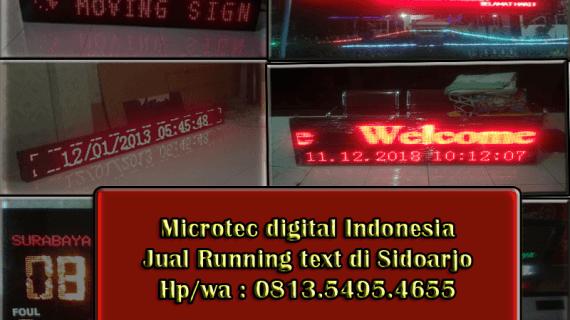 Jual Running text sidoarjo – 0813.5495.4655