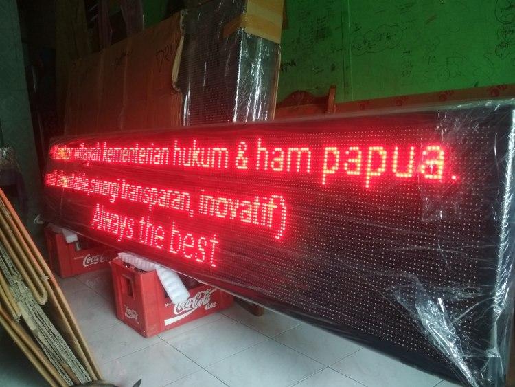 jual running text Bangkalan