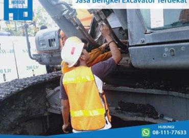 bengkel excavator